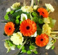 Orange and Lime Posy